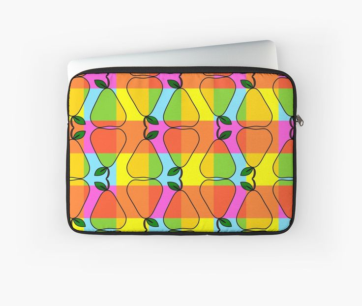 Protect your #laptop with a colorful sleeve. #joyful #technology #fruity @redbubble