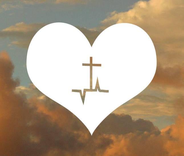 O coração de Deus bate por nós, o amor dele nos atrai, é o melhor lugar onde podemos estar!