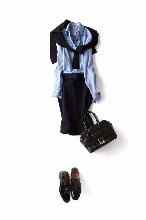 コーディネート詳細(新しいムードで着る定番アイテム)| Kyoko Kikuchi's Closet|菊池京子のクローゼット