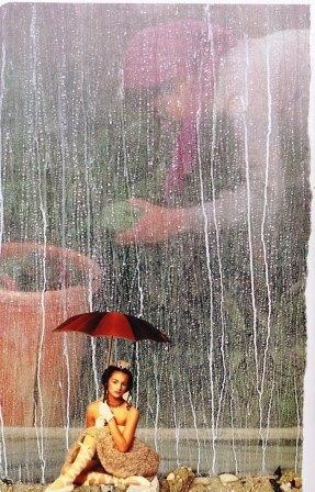 """""""I Am One Who  is in the background  nourishing you.  I Am the One Who  feels protected and safe.  I Am the One Who  won't let a little rain  ruin my dance.""""     Card Shared By:  Mary Hicks, Worcester MA"""