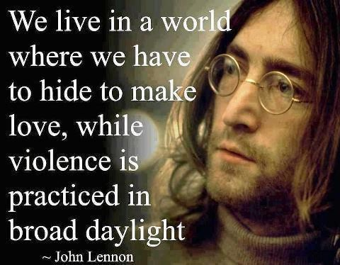 The U.S. vs. John Lennon: a rallying anti-war activist striving for world peace during the late 1960s and early 1970s.