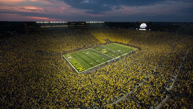 """The third largest football stadium in the world! - """"The Big House"""""""