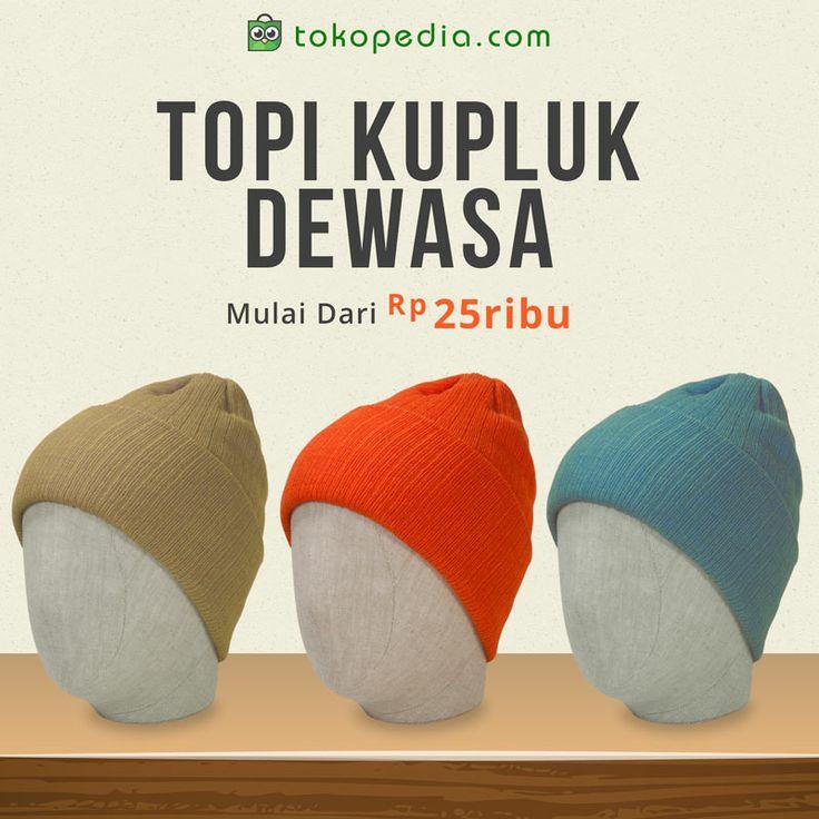 Lagi nyari topi stylish yang bisa dipakai buat kemana saja? Topi Kupluk jawabannya. Dapatkan sekarang di http://www.tokopedia.com/hot/topi-kupluk-dewasa mulai dari Rp 25.000,- (harga bervariasi)