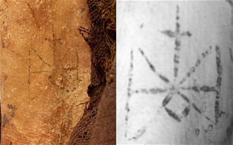 1,300 year-old mummy and her intimate tattoo - Telegraph