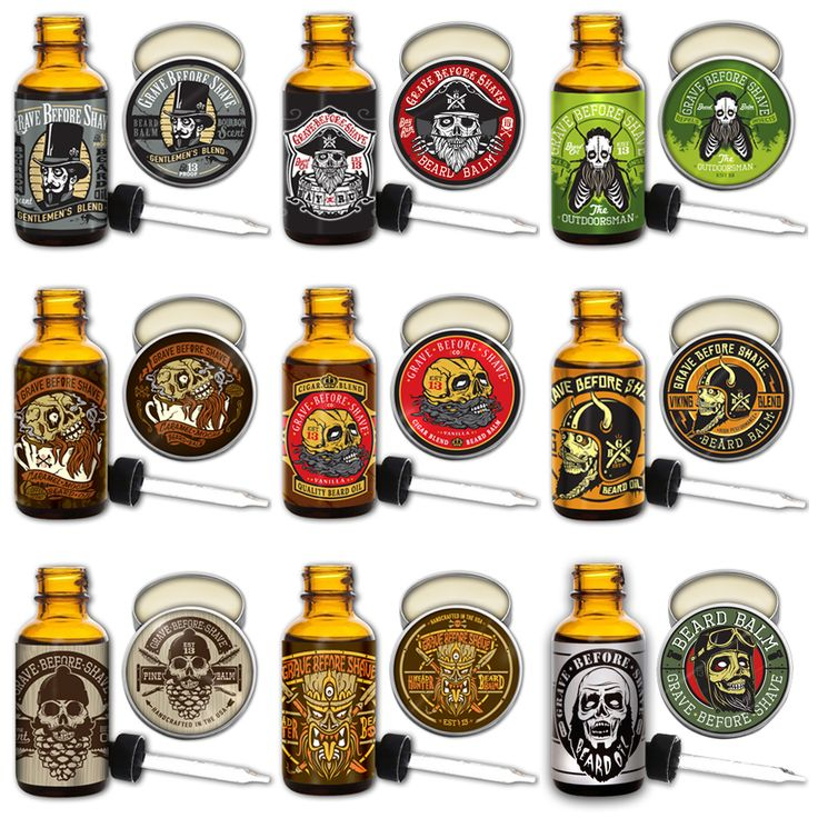***FREE US SHIPPING***1  1oz. GRAVE BEFORE SHAVE  BEARD OIL1  2oz. GRAVE BEFORE SHAVE  BEARD BALM choose desired pack from the drop-down menu below