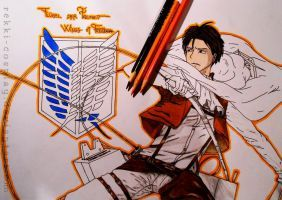 Attack on Titan - Poster W.I.P. by Rekki-Cosplay
