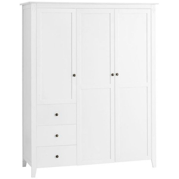Inspirational AULUM Door Wardrobe liked on Polyvore featuring home furniture T renschrankKleiderschrank