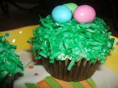 Easter Cupcakes from Kaitlin in the Kitchen: Easter Cupcake