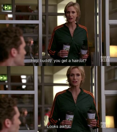 Sue Sylvester is such a funny character.