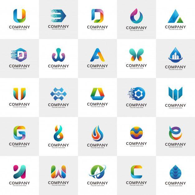 Set Of Logo Design Templates Premium Vector