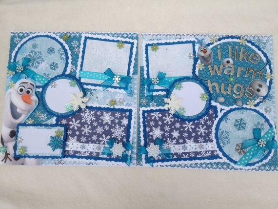 Disney Frozen Anna Elsa Olaf Birthday by kariskraftkorner3301