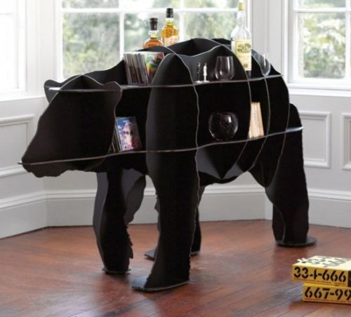 bear craft supplies holder