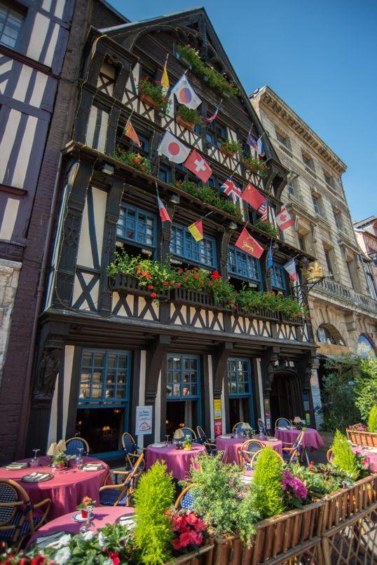 229 best paris shops cafes images on pinterest - Le petit zinc rouen ...