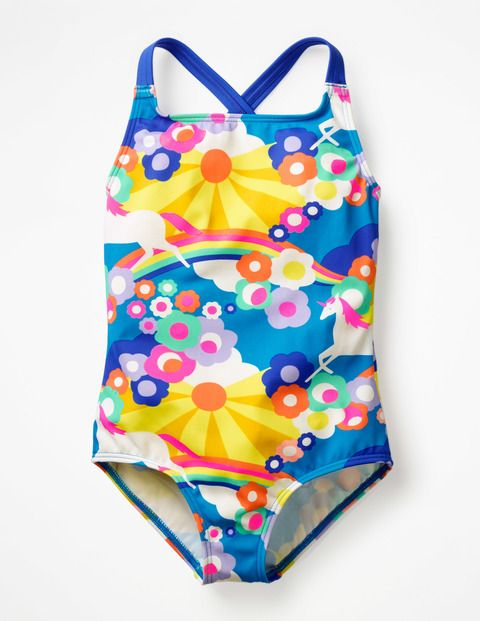 7dd1f5519c308 Cross-back Swimsuit G1059 Swimsuits at Boden   Kids in 2019 ...