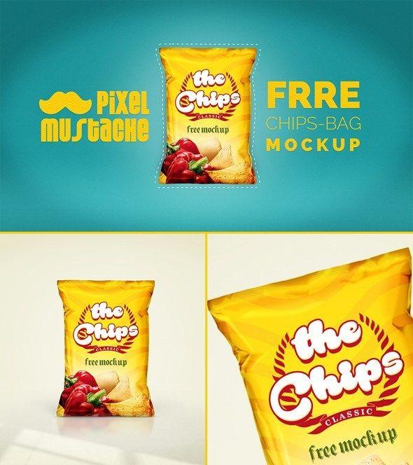 Free Realistic Chips Bag Mockup Psd Bag Mockup Mockup Free Psd Free Mockup