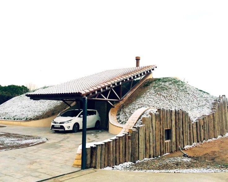 12 best Earth-Bermed Homes images on Pinterest | Earth house, House ...