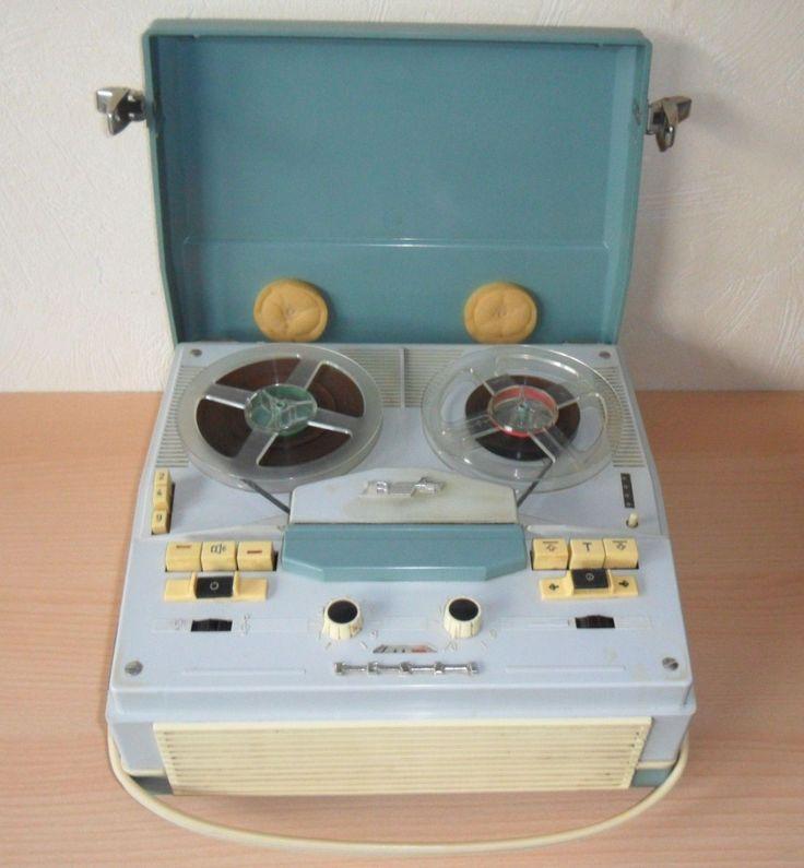 DDR Magnetband Tonbandgerät TESLA B4 • EUR 23,60