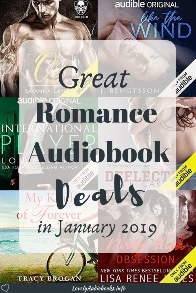 New Audiobooks, new Deals and new News #16 | Romance