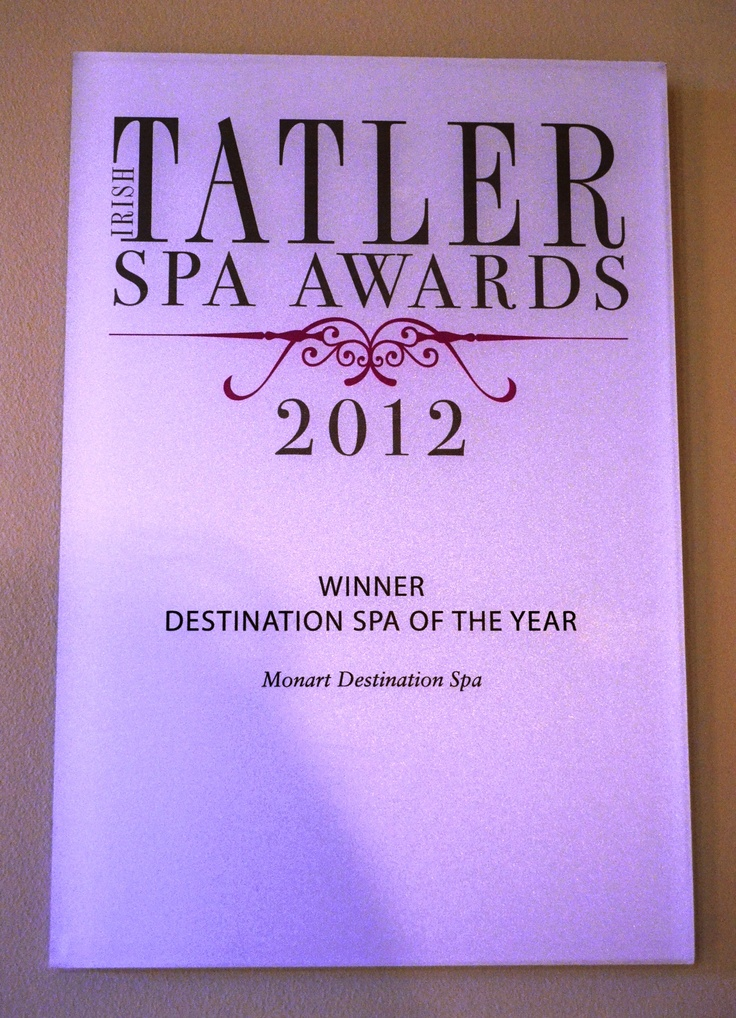 award winning spa @Monart Spa
