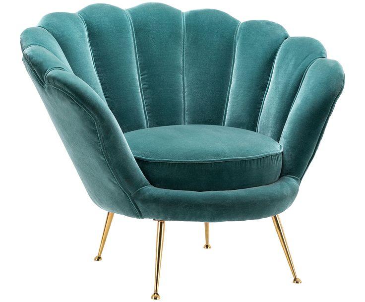 Mit Samt-Sessel Trapezium in Türkis verleihen Sie ihrem Zuhause eine persönliche Note. Weitere Produkte jetzt auf >>WestwingNow