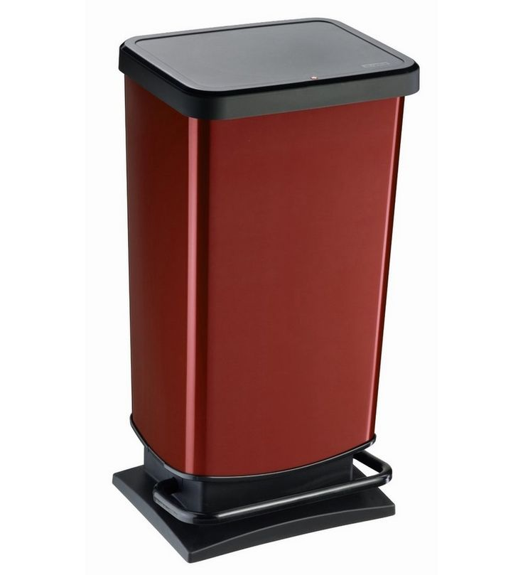 buy rotho red plastic 40 l dustbin online shop from wide range of cleaning online