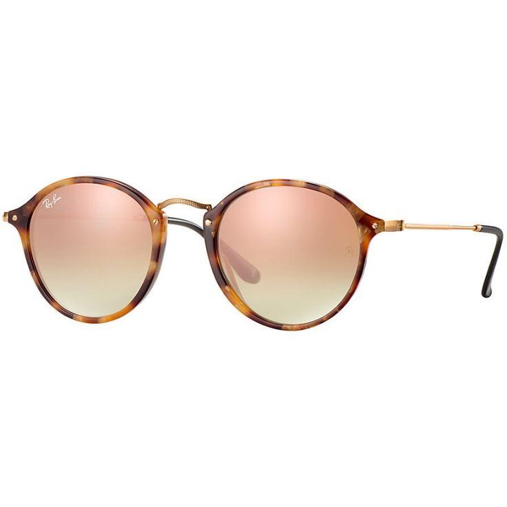 Acquista i fantastici occhiali RAY-BAN RB2447 11607O 49 ROUND FLECK FLASH LENSES…