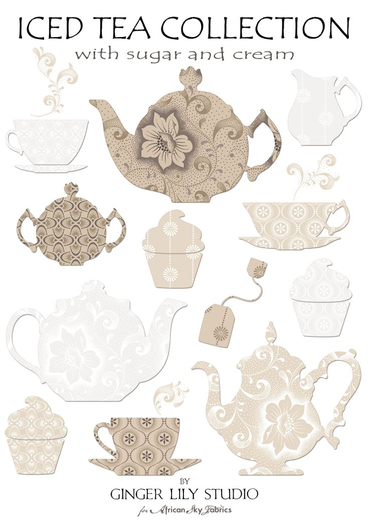 Iced Tea Collection ~ with sugar & cream by Ginger Lily Studio  for African Sky Fabrics Pdf Swatch Pages available for download here: http://www.africanskyfabrics.com/images/Iced%20Tea%20Collection.pdf