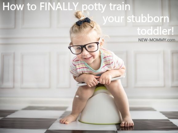 How to Potty Train a Stubborn Toddler (When Traditional Potty Training Methods Fail)