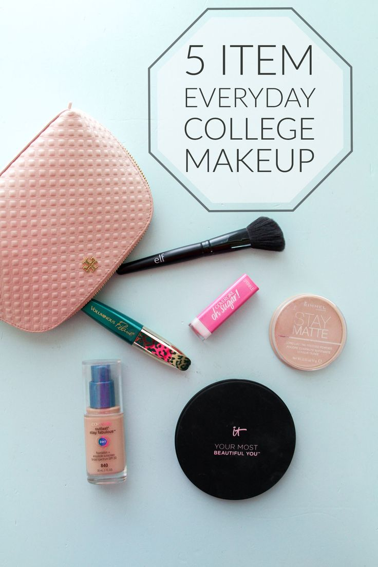 5 item everyday makeup routine