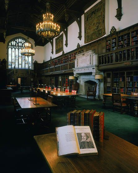 Folger Shakespeare Library (old reading room) (Washington, D.C.)