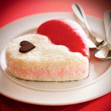 Gâteau de la St Valentin