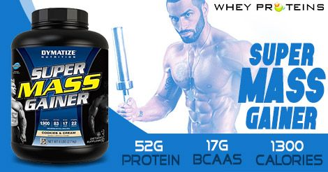 Dymatize Super Mass Gainer is one of the best mass gainer supplements.