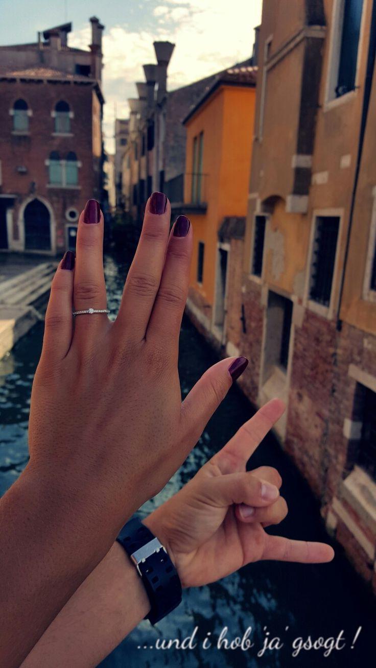 Verlobung ♡ Venedig