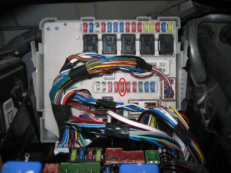 Nissan Titan Fuse Box 2005 Nissan Titan Fuse Box Diagram