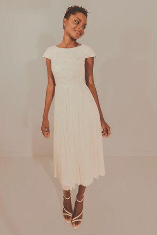 Coming Up Roses Dress - Pearl – Blackeyed Susan