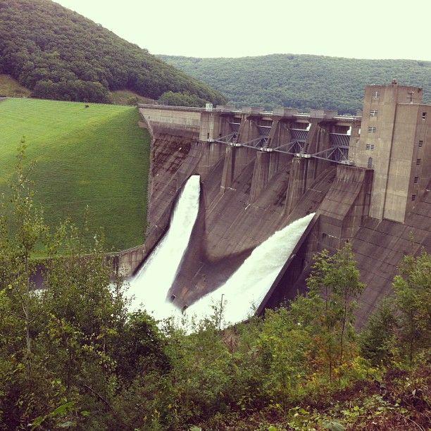 Kinzua Dam in Warren, PA