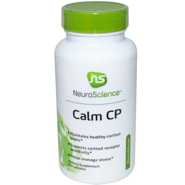 NeuroScience, Inc., Calm CP, 60 Capsules  #stress #formula #support #balance #management #iherb #thingstobuy #shopping #relief