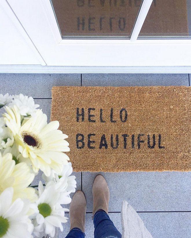 front door mat front door mat door mat hello beautiful the hello beautiful door