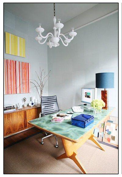 Decorar un despacho en casa oficina y escritorios - Como decorar un despacho en casa ...