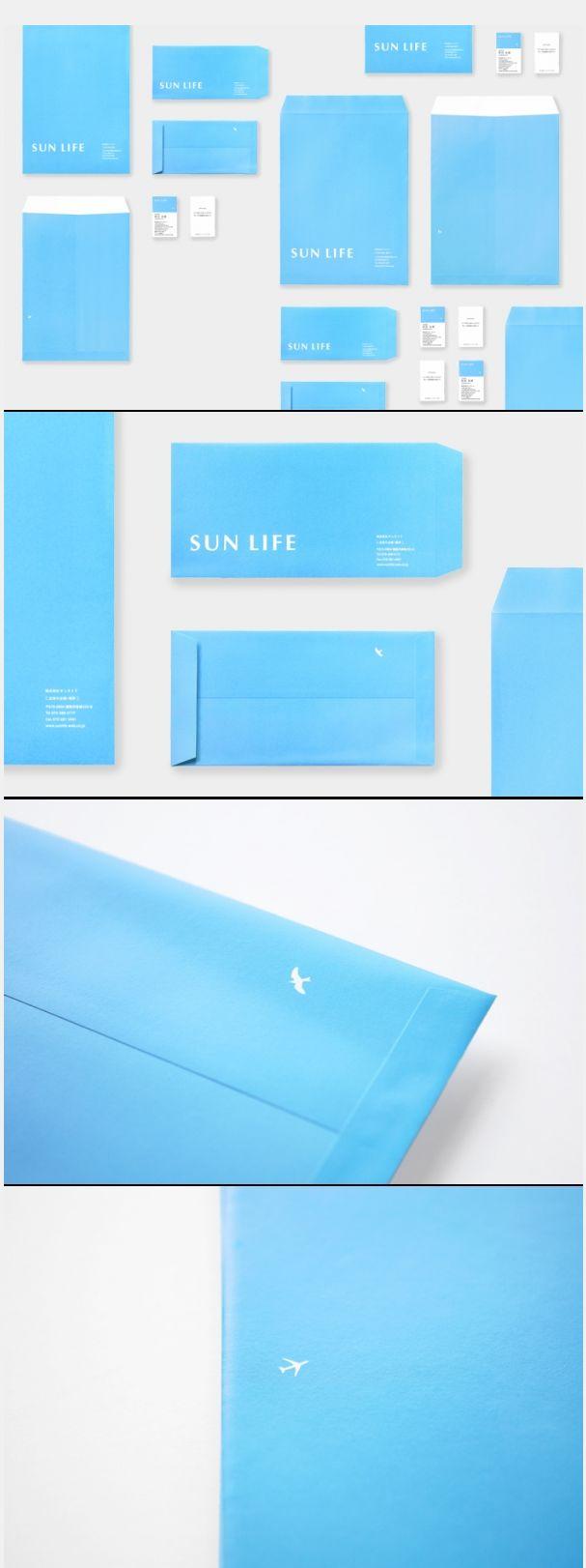 サンライフ SUN LIFE  #identity #branding #suptile #blue #design