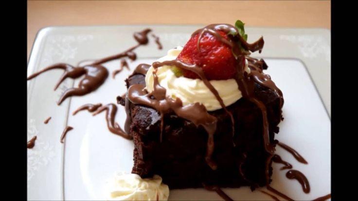 Chocolate syrup cake!!