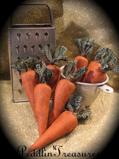Mini Carrots CarrotsPrimitive CarrotsCountry PrimitivePrimitive DecorEaster CraftsEaster IdeasPrimitive