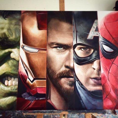 Marvel Fan Art (@marvel.fan.art) | Instagram photos and videos