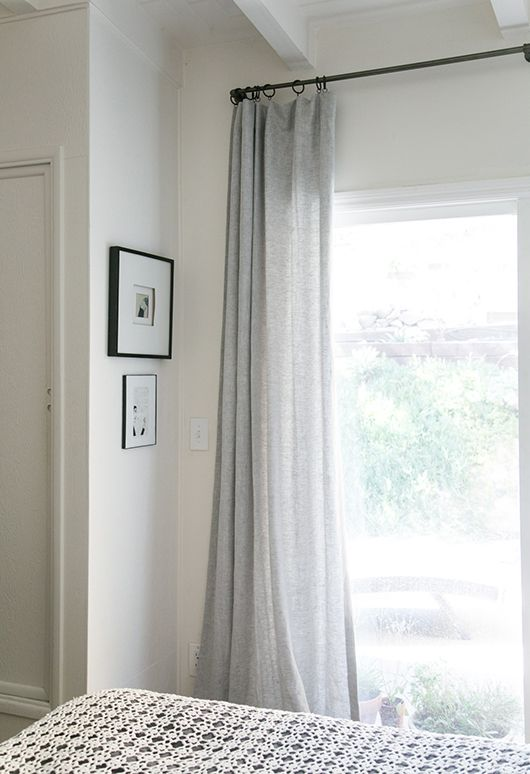 Modern Bohemian Bedroom. Curtains For Sliding DoorsSliding ...