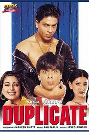 Duplicate 1998 Full Movie Download. Bablu (Shah Rukh Khan), an aspiring chef, works in a hotel where Sonia Kapoor,(Juhi) works with him as banquet manager at the restaurant. His look-alike Manu (Shah Rukh Khan), a gangster, ...