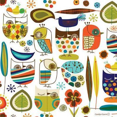 Owls | Designer jots by Carolyn Gavin