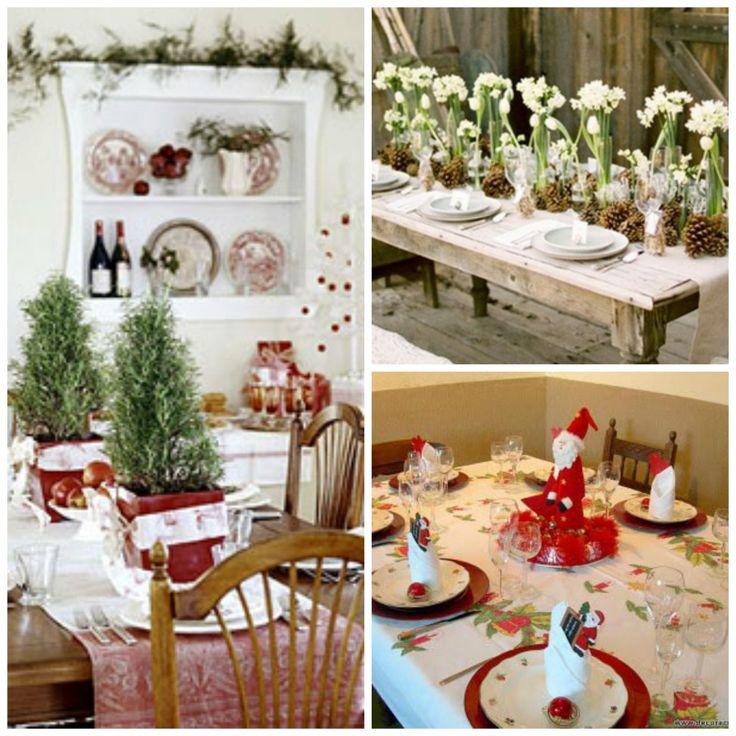 Decoraci n navide a centros de mesa my little party - Mesa navidena decoracion ...