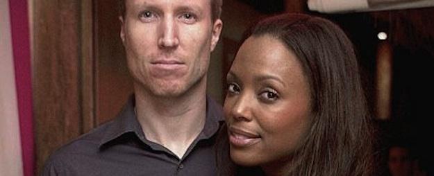 7 Longtime Famous Interracial Couples Aisha Tyler and Jeff Tietjens