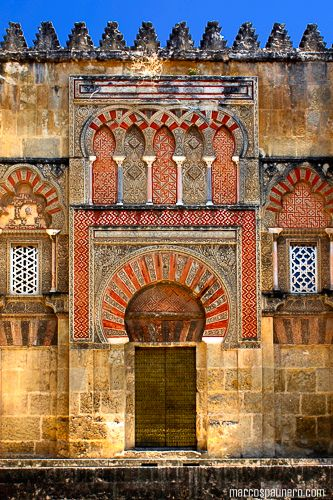 Mezquita and the Great Mosque of Córdoba. Cordoba, Spain. 784