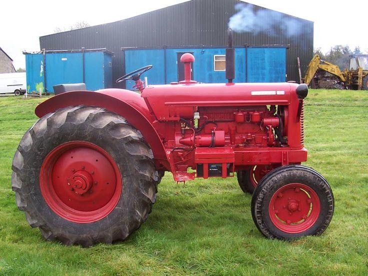 RARE David Brown Tractor 50D Vintage Tractor